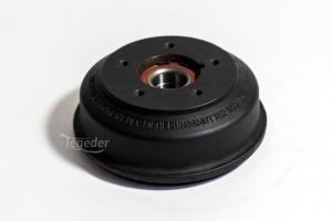 BPW Bremstrommel 200x50 1500Kg Lochkreis 5x112 Großer Lagersitz, Kompaktlager 39/72x37, für S2005-7, Vergleichsnummer: 05.434.84.17.0 (4008253)