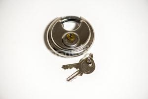 Diskusschluss für Anhänger-Diebstahlsicherung