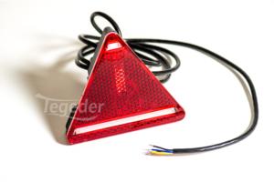 LED-Heckleuchte rechts Dreiecksform für PKW-Anhänger